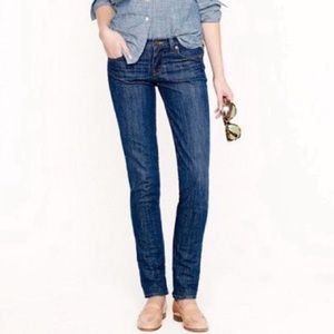 J. Crew Matchstick Stretch Straight Jeans